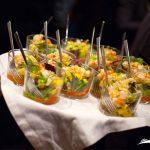 Ejemplo de aperitivo frío en Barco para Eventos