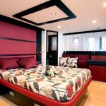 Double Bed in Double Cabin of Doqueve 70