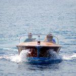 Motor boat Rio Espera sailing fast