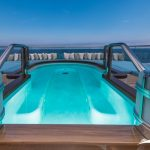 Yacuzzi extra great to relax for the night on super yacht nirvana