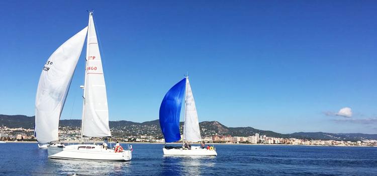 2 veleros en la ruta de la sal